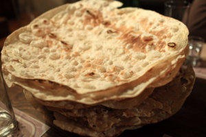 Traditional Iraqi Bread - Khubz