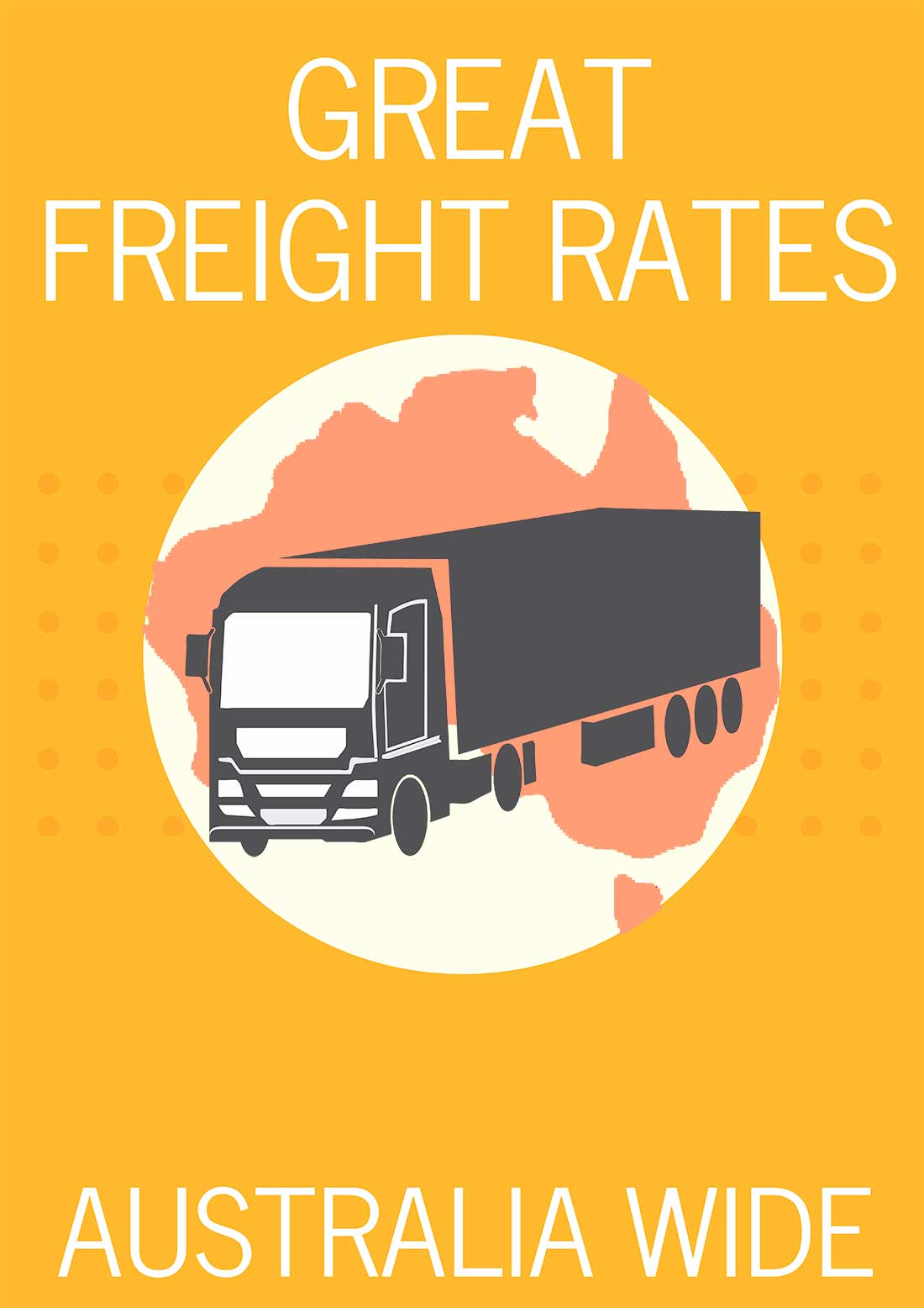 Great Freight Rates Australia Wide