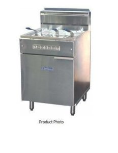 Goldstein deep fryer 3 basket FRG24L Fish Fryer -1