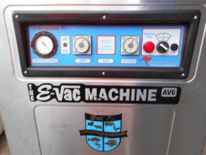 eVac AV 6 Vacuum Sealing Machine -2