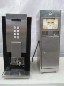 AEQUATOR Auto Coffee Machine & Fridge RIO 14