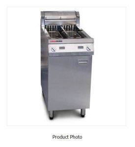 Ausheat AF822 Single Twin Tank Fryer 2 Basket -1