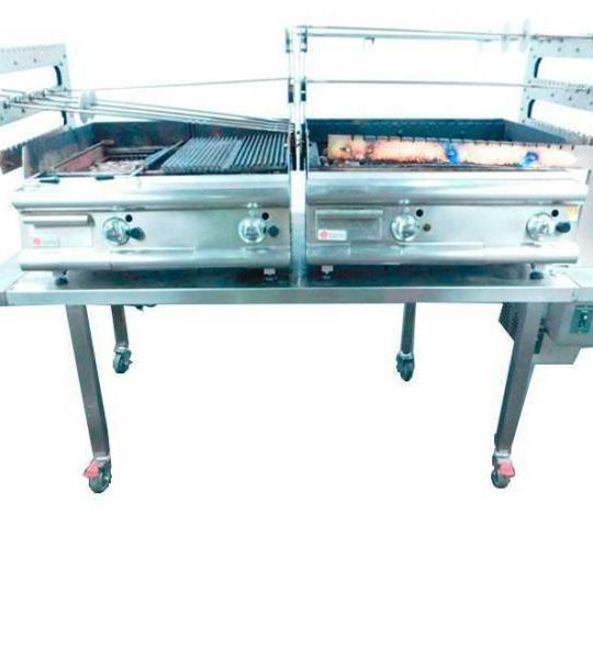 Baron spit roast grill (2 units), with stand (ITALY) -1