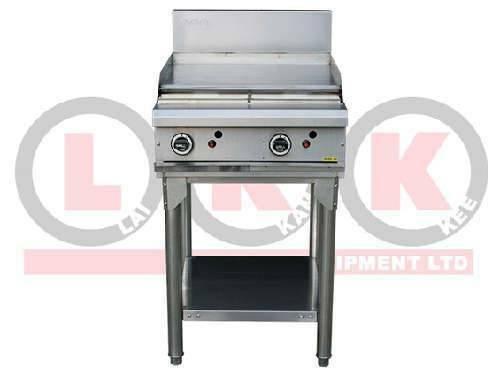 LKK 2 Burner Flat Plate Gas Griddle Grill