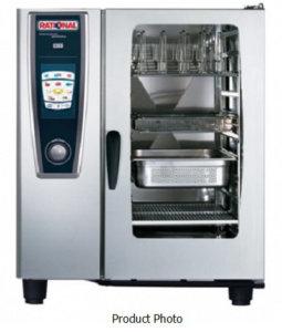 Rational Combi Oven LPG Gas SCCWE101G - White Efficiency