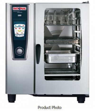 Rational Combi Oven LPG Gas SCCWE101G - White Efficiency